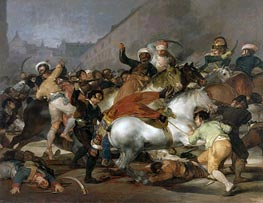 Goya   The 2nd of May 1808 in Madrid, 1814   Giclée Canvas Print