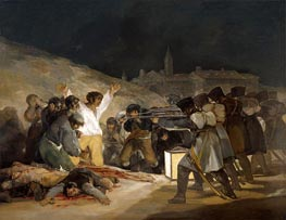 Goya | The 3rd of May 1808 in Madrid, 1814 | Giclée Canvas Print