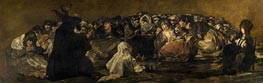 Goya   The Great He-Goat, c.1820/23   Giclée Canvas Print