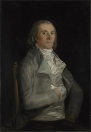 Don Andres del Peral, b.1798 by Goya | Giclée Canvas Print