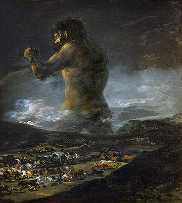 The Colossus, undated | Goya | Painting Reproduction