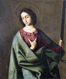 Zurbaran | St. Euphemia, Undated | Giclée Canvas Print
