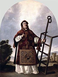 Zurbaran | St Lawrence, 1636 | Giclée Canvas Print