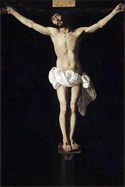 Zurbaran | Crucified Jesus, c.1630/40 | Giclée Canvas Print