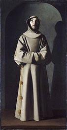 Zurbaran | Saint Francis, c.1640/45 | Giclée Canvas Print