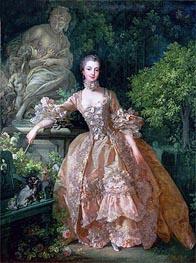 Boucher | Madame de Pompadour | Giclée Canvas Print