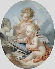 Boucher | Drawing | Giclée Canvas Print