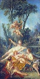 Cupid a Captive, c.1754 by Boucher | Giclée Canvas Print