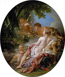 Angelica and Medoro, 1763 by Boucher | Giclée Canvas Print