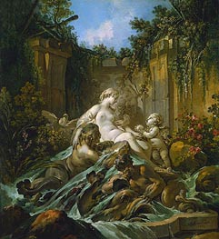 Fountain of Venus, 1756 by Boucher | Giclée Canvas Print