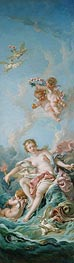 Venus on the Waves, 1769 by Boucher | Giclée Canvas Print