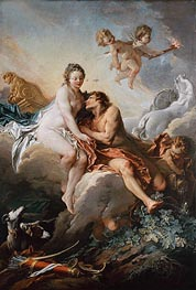 Aurora and Cephalus, undated by Boucher | Giclée Canvas Print