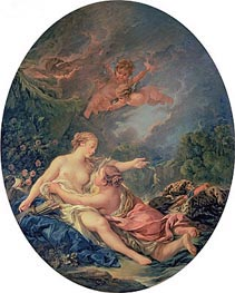 Jupiter and Callisto, 1769 by Boucher | Giclée Canvas Print