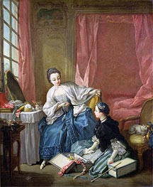Boucher | The Modiste, c.1746 | Giclée Canvas Print