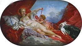 Boucher | Venus and Cupid, undated | Giclée Canvas Print