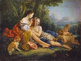 Spring, 1745 by Boucher | Giclée Canvas Print