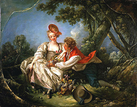 The Four Seasons: Autumn, 1755 | Boucher | Painting Reproduction