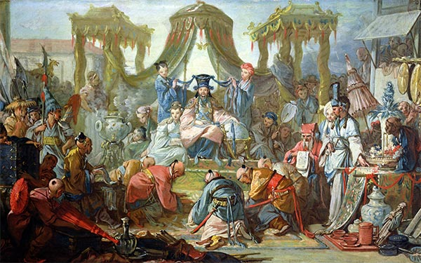 The Chinese Wedding, c.1742 | Boucher | Painting Reproduction