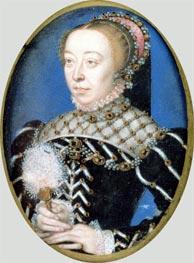 Francois Clouet |  Portrait of Catherine de Medici | Giclée Canvas Print