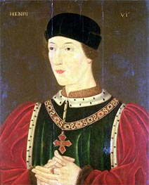 Francois Clouet | Henry VI of England | Giclée Canvas Print