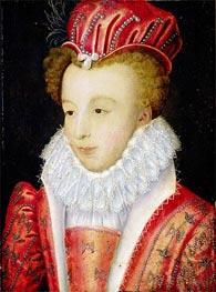 Francois Clouet   Marguerite de Valois   Giclée Canvas Print