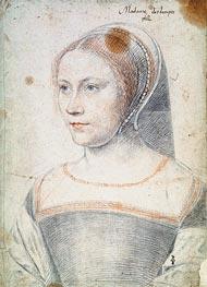 Francois Clouet | Anne de Pisseleu, Duchesse d'Etampes or Possibly Diane de Poitiers as a Widow, c.1520/25 | Giclée Paper Print