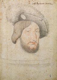 Francois Clouet | Portrait of Francois I, b.1525 | Giclée Paper Print