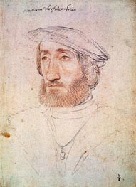 Francois Clouet | Jean de Laval Seigneur de Chateaubriand, undated | Giclée Paper Print