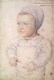 Francois Clouet | Louis Charles de Bourbon Comte de Marle, 1555 | Giclée Paper Print