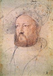 Francois Clouet | Louis de Chandio Lord of Bussy, c.1520 | Giclée Paper Print