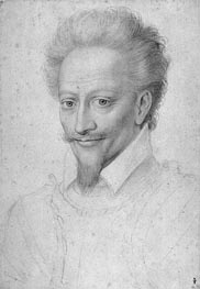 Francois Clouet | Henri I de Bourbon Prince de Conde, undated | Giclée Paper Print
