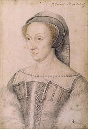 Francois Clouet | Diane de Poitiers Duchess of Valentinois, undated | Giclée Paper Print