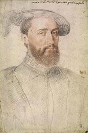 Francois Clouet | Jean de Poitiers Lord of Saint-Vallier, undated | Giclée Paper Print