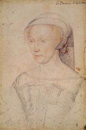 Francois Clouet | Diane de Poitiers Duchess of Valentinois, c.1555 | Giclée Paper Print