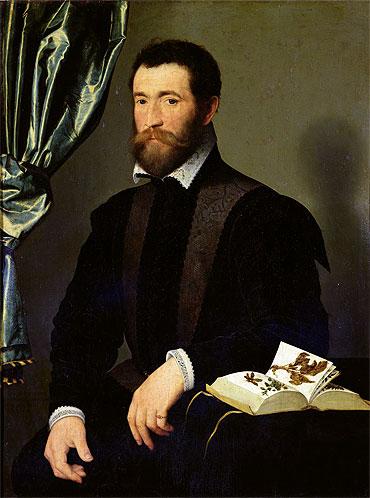 Portrait of Pierre Quthe, 1562   Francois Clouet   Painting Reproduction
