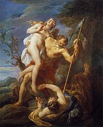 Francois Lemoyne | Time Saving Truth from Falsehood and Envy, 1737 | Giclée Canvas Print