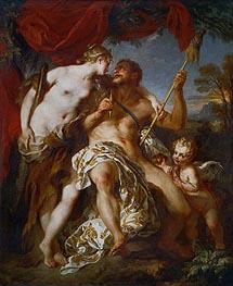 Francois Lemoyne | Hercules and Omphale, 1724 | Giclée Canvas Print