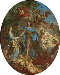 Francois Lemoyne | Louis XV Bringing Peace to Europe, undated | Giclée Canvas Print