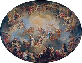 Francois Lemoyne | The Glorification of the Virgin, 1731 | Giclée Canvas Print