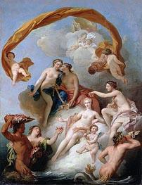 Francois Lemoyne | The Toilet of Venus, undated | Giclée Canvas Print