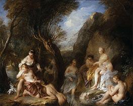 Francois Lemoyne | Diana and Callisto, 1723 | Giclée Canvas Print