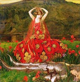 Frank Cadogan Cowper | La Belle Dame Sans Merci, 1926 | Giclée Canvas Print