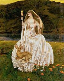 Frank Cadogan Cowper | The Damsel of the Lake, Called Nimue the Enchantress, 1924 | Giclée Canvas Print