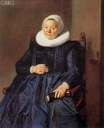 Frans Hals | Portrait of a Woman, 1635 | Giclée Canvas Print