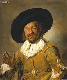 Frans Hals | The Merry Drinker | Giclée Canvas Print