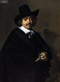 Frans Hals | Portrait of a Man, c.1650/52 | Giclée Canvas Print