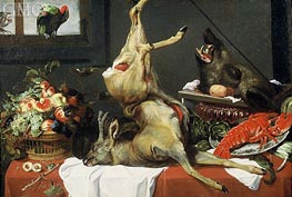 Frans Snyders | Still Life with Boar Head, c.1630/50  | Giclée Canvas Print