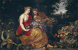 Frans Snyders | Ceres and Pan, c.1615 | Giclée Canvas Print