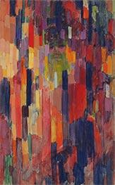 Mme Kupka among Verticals, c.1910/11 by Frantisek Kupka | Giclée Canvas Print