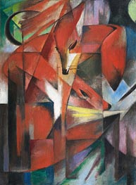 Franz Marc | Foxes, 1913 | Giclée Canvas Print